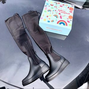 Jeffrey Campbell Monsoon Rain Boot